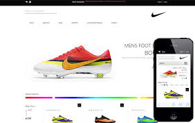 Ecommerce Website Template Enchanting Spike Shoes A Flat ECommerce Responsive Web Template By W28layouts