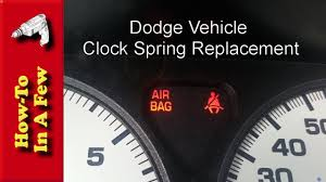 2006 Dodge Ram Airbag Light Howto Replace The Clockspring On A Dodge Vehicle With An Airbag Light On