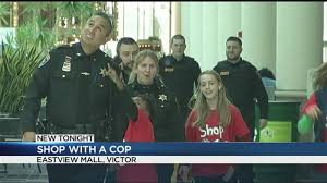 Ontario County Students Participate In Shop With A Cop Event