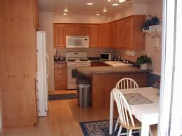 Lighting For Kitchens Lighting In Kitchen With No Island Floor Paneling Countertops
