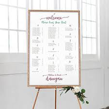 Wedding Seating Chart Poster Board Seating Chart Posters