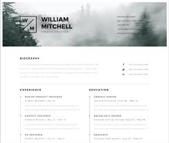 Modern Resume Template Free Download Eadily Read By Resume Reading Soft Wear 30 Best Free Illustrator Resume Templates In 2019