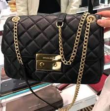 michael michael kors sloan large quilted leather shoulder bag women s fashion bags wallets on carou