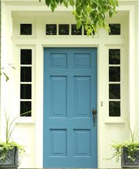 white front door. White Front Door This Blue Has A Brass Key Entrance Knob And Handle Modern Uk: