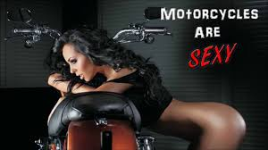 Motorcycle and sexy women