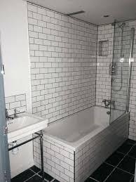 tiling over tile subway tiles for a bathroom installation at by bathroom guru see more bathrourucom
