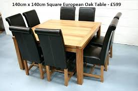 large round oak dining table dining tables seats 8 oak dining table seats 8 large round