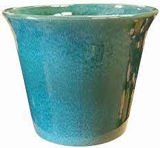colorful flower pots garden pottery