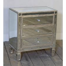 antique mirrored furniture. Mirrored Antique Silver 3 Drawer Small Venetian Chest Of Drawers For Ideas 18 Furniture D