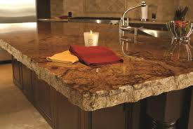 Granite Countertops Edges Kitchen Chiseled Edge Close Up 2 Simple