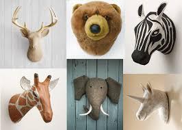 stuffed animal wall mount clothing