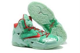 lebron james shoes 12 green. hot deals nike red kid\u0027s christmas big 11 p.s basketball shoes air max elite lebron james 12 green