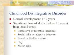 PDDs  Classification Autistic Disorder  AD  Asperger s Disorder AspD