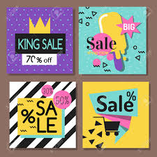 A Vector Illustration Special Offer Big Sale Flyer Card Template