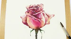 lvl5 how to paint a rose in watercolor step by step tutorial you