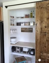 turn your pantry into a baking center mylove2create