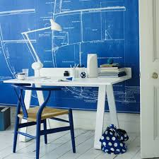 office room diy decoration blue. Five Fun Home Dcor Tutorials Diy Inspired Adorable Decor Office Decorating Ideas On And Workspaces Design Room Decoration Blue