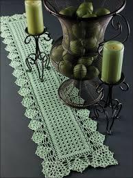 Free Crochet Table Runner Patterns Extraordinary 48 Crochet Table Runner Patterns The Funky Stitch