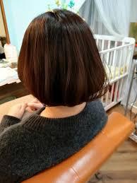 女性に人気安定のミディアムボブ 色んな髪型したけれど 結局はこの