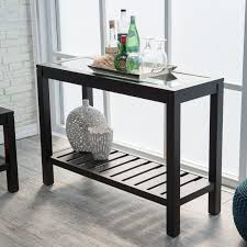 sutton glass top coffee table with slat bottom hayneedle tables tops masterch
