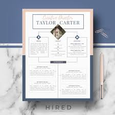 Creative Resume Template Creative Cv Template Taylor On Behance