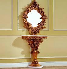 entryway table with mirror. Baroque Console Table 02 Entryway With Mirror C