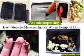 easy to set up rubbermaid bin indoor compost bin using red wiggler worms mybrightideasblog com