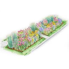 Small Picture Colorful Front Yard Garden Plans