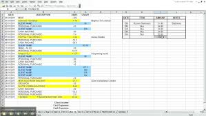 Examples Of Business Expenses Example Of Business Income And Expense Spreadsheet And Business