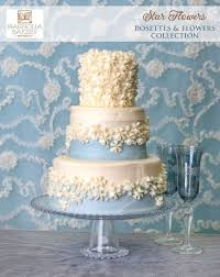 Star Flowers Wedding Cake From The Rosettes And Flowers Collection