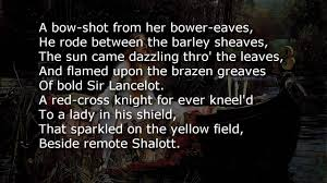 the lady of shalott poem text the lady of shalott poem text