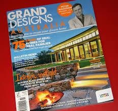 Small Picture Our Design Front Cover of Grand Designs Australia Magazine