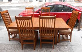 mission style dining room chairs throughout set adeaguame