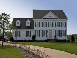 Colonial House Plans   The House Plan ShopCape Cod Home Plan Photo  H