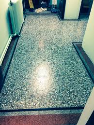 Restoring the Appearance of Terrazzo Floor Tiles Stone Cleaning