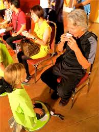 chinese tea ceremony chinese culture americans in asia photo drinking the tea in the tea ceremony child serves parent