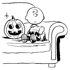 Small Picture Snoopy Halloween Coloring Pages Virtrencom