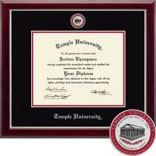 temple university main campus bookstore church hill classics  church hill classics masterpiece diploma frame associates bachelors masters or ph