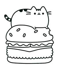Coloring Pages Pusheen Best Of Pusheen Coloring Pages Pdf Free