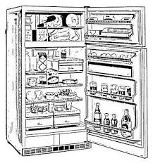 open refrigerator drawing. 1. need more space? add a basic wire shelf. open refrigerator drawing n