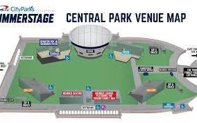 Summerstage Seating Chart