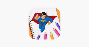 Over the years, video games based on superman have attained a reputation for being of low quality. Superhero Coloring Book Pixie On The App Store