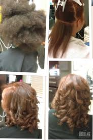 Color And Blowout Blowout Hair Natural Hair Blowout