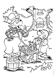 Small Picture Online for Kid Berenstain Bears Coloring Pages 20 For Picture