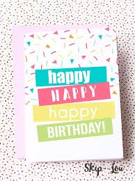 Card Bday 30 Handmade Birthday Card Ideas
