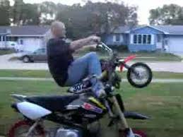 modified honda crf 50 pit bike wheelies youtube