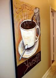 The Modern Artist Coffee Wall Decor Coffee Collectible Art Coffee Wall Decor