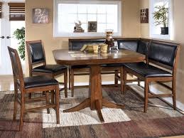 luxurious bench kitchen table set dining room table corner bench set ashley crofton corner booth dining