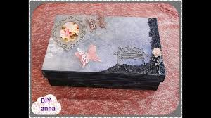 Decorated Shoe Box Ideas old shoe box recycle DIY ideas decorations craft tutorial YouTube 17