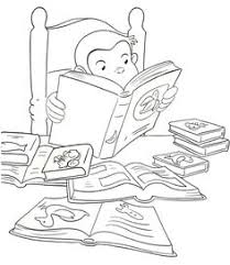 33 Delightful Curious George Coloring Book Pages Images Coloring